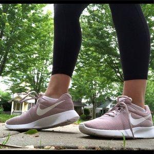 Nike Pink Tanjun Sneakers Size 8